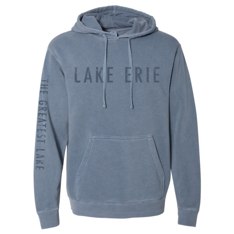 SALE - Lake Erie Sweatshirt - Faded Blue
