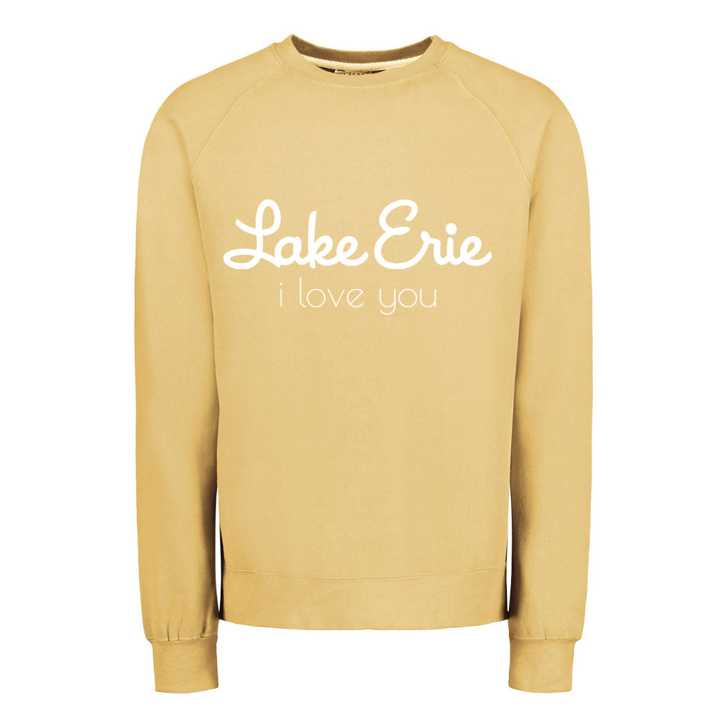 Lake Erie I Love You Sweatshirt