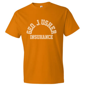 George J. Usher Tee - Orange