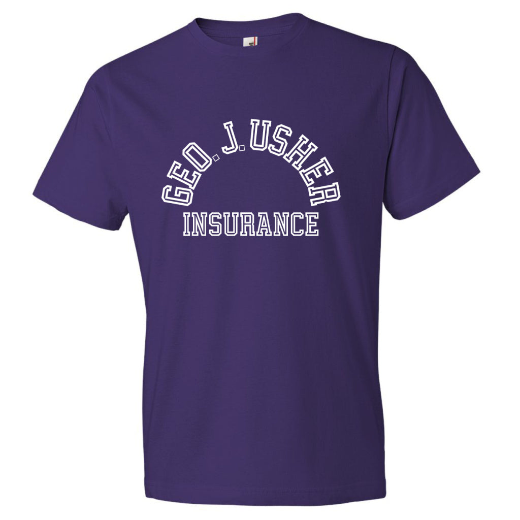 George J. Usher Tee - Purple