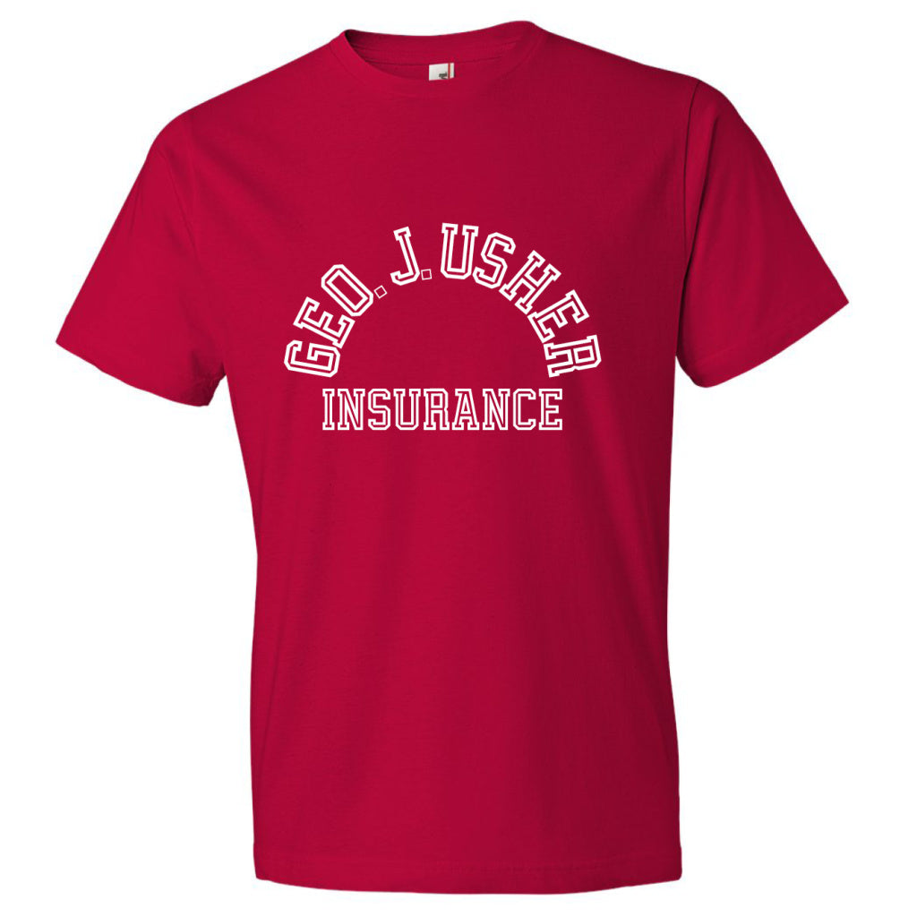 George J. Usher Tee - Red