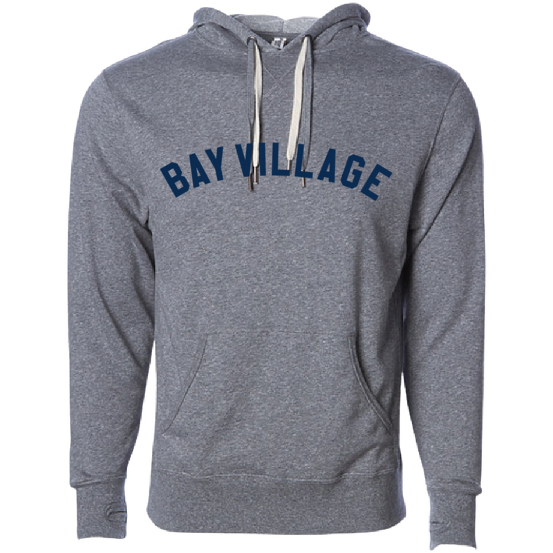 Bay Village - Salt & Pepper Hoodie