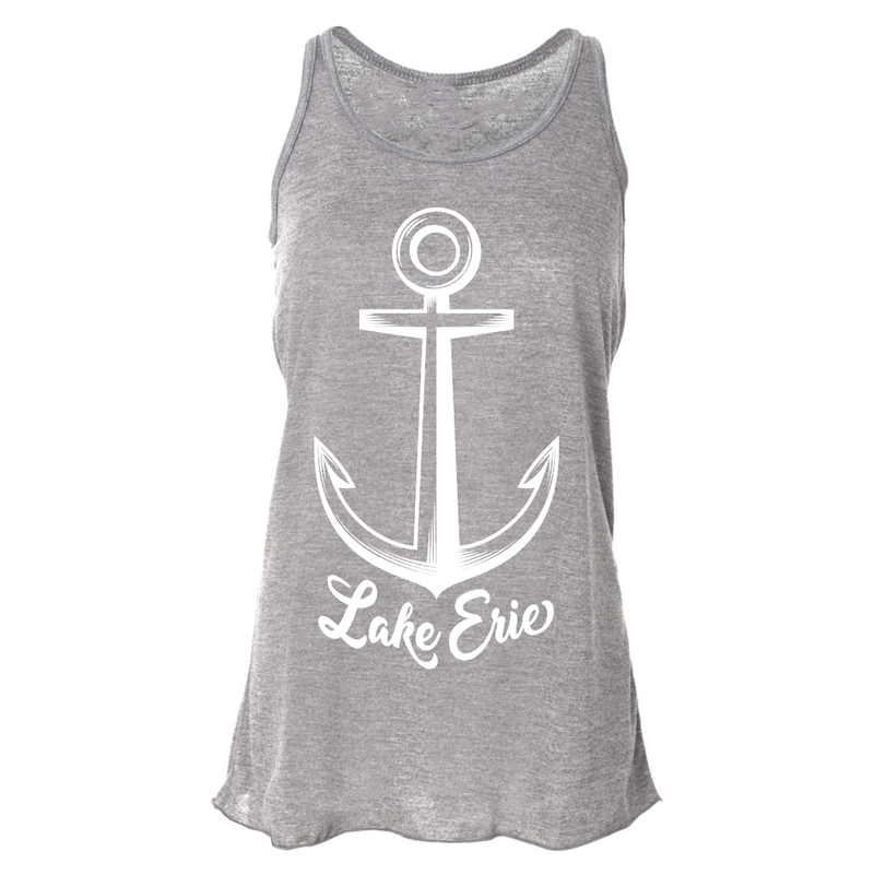 Lake Erie Anchor Tank - Athletic Gray