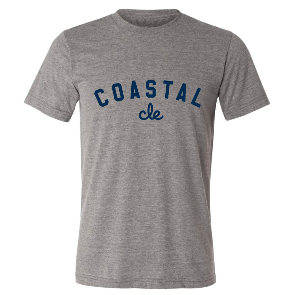 Coastal Cle Tee - gray