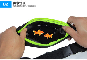 Expandable Pocket Running Waist Anti Theft Bag