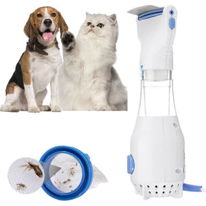 Electric Head Lice Comb for Pet Dog Cat Flea
