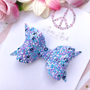 Magic Carousel - Lewis Leigh Hair Bows - Glitter Bows