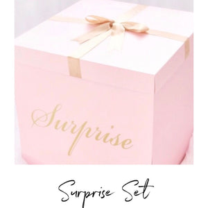 Surprise Set x5 - Lewis Leigh Hair Bows - Glitter Bows