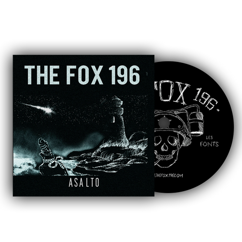 CD - The Fox 196 - Asalto (2017)