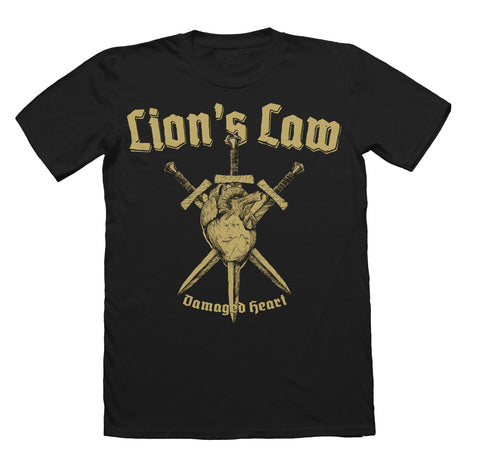 Camiseta - Lions Law - Damaged heart