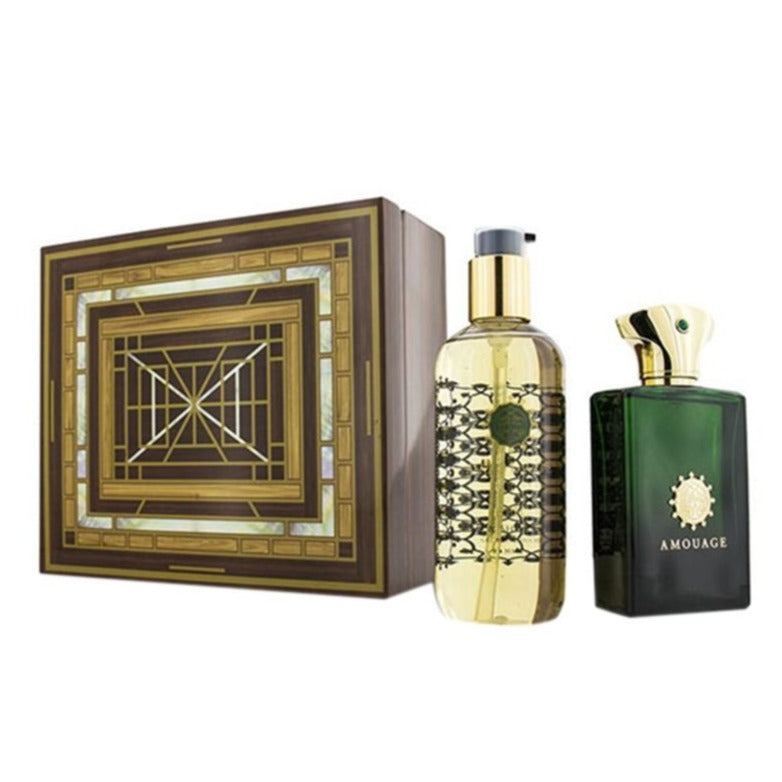 Amouage Epic Man Marquetry Box