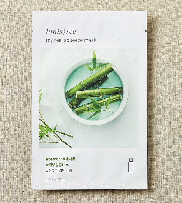 INNISFREE  My real squeeze mask - Mumui