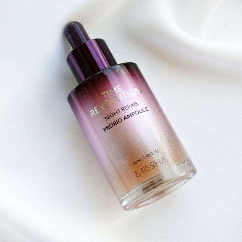 MISSHA Time Revolution Night Repair Probio Ampoule (Nueva fórmula 2019) - Mumui
