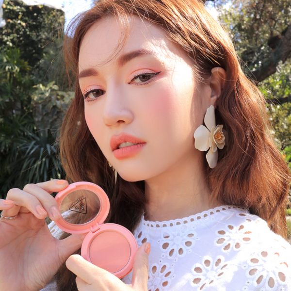 3CE Face Blush Mood for Blossom Edition #PURE CAKE - Mumui