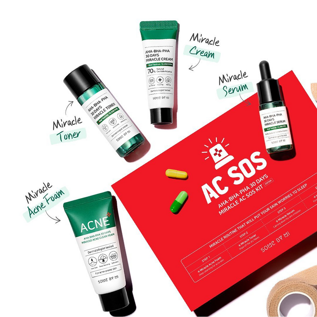 SOME BY MI AHA.BHA.PHA 30 DAYS Miracle AC SOS Kit - Mumui