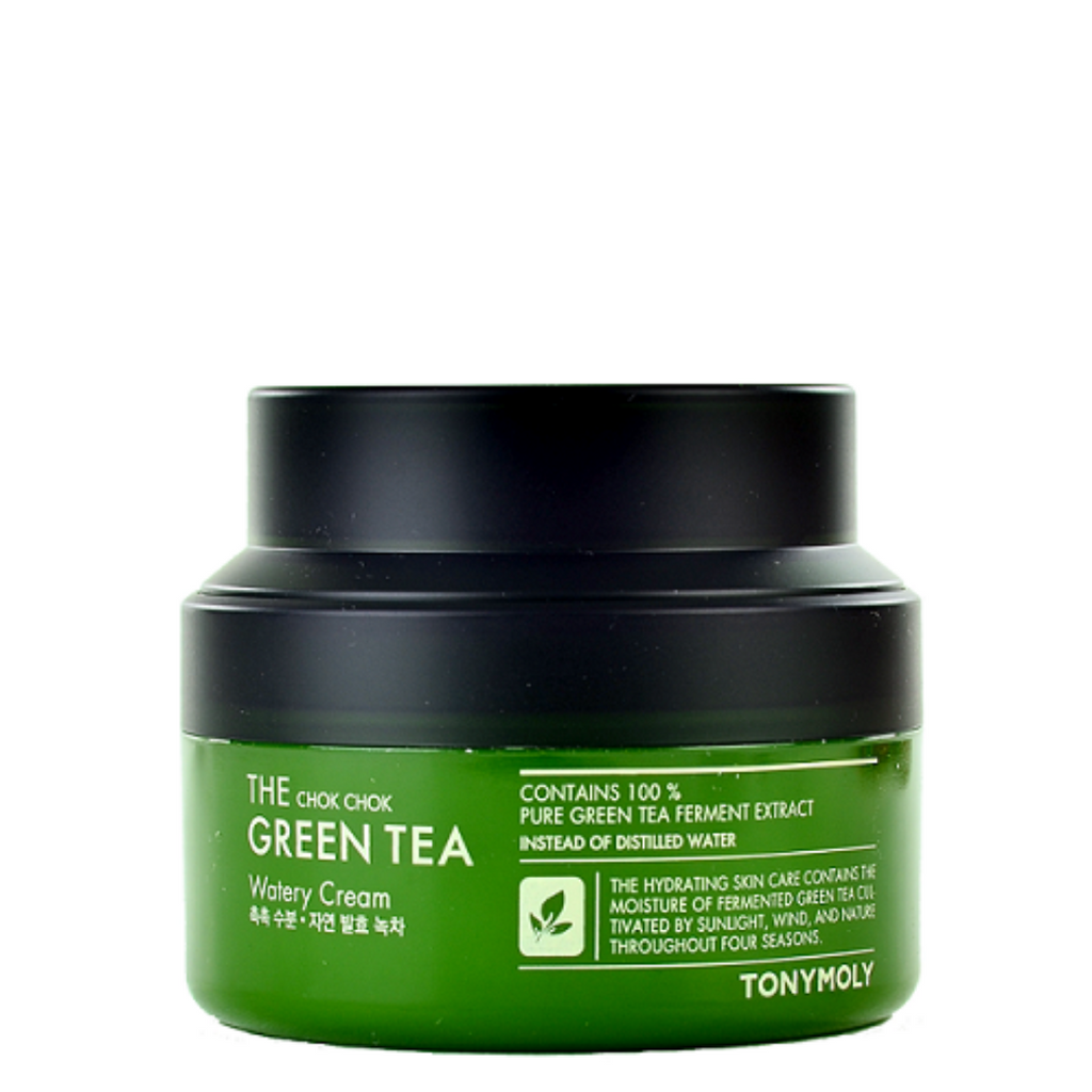 TONY MOLY The Chok Chok Green Tea Watery Cream - Mumui