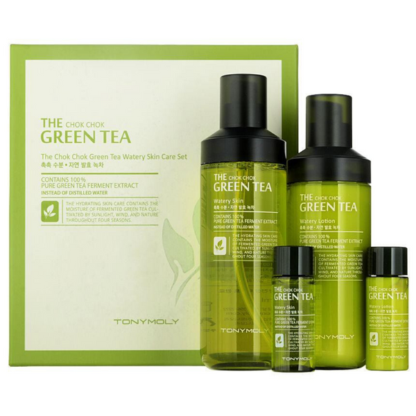 TONY MOLY The Chok Chok Green Tea Set