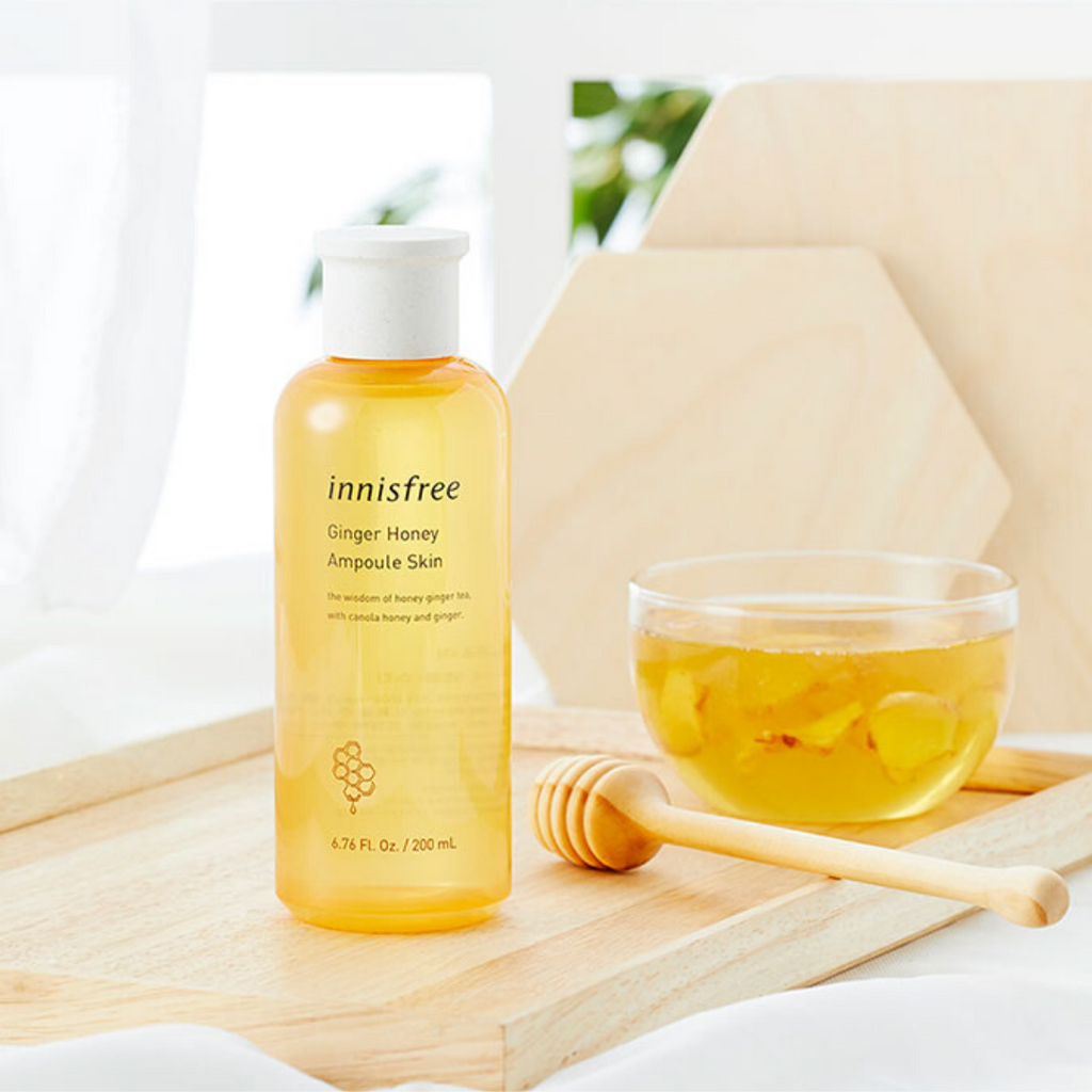 INNISFREE Ginger Honey Ampoule Skin - Mumui