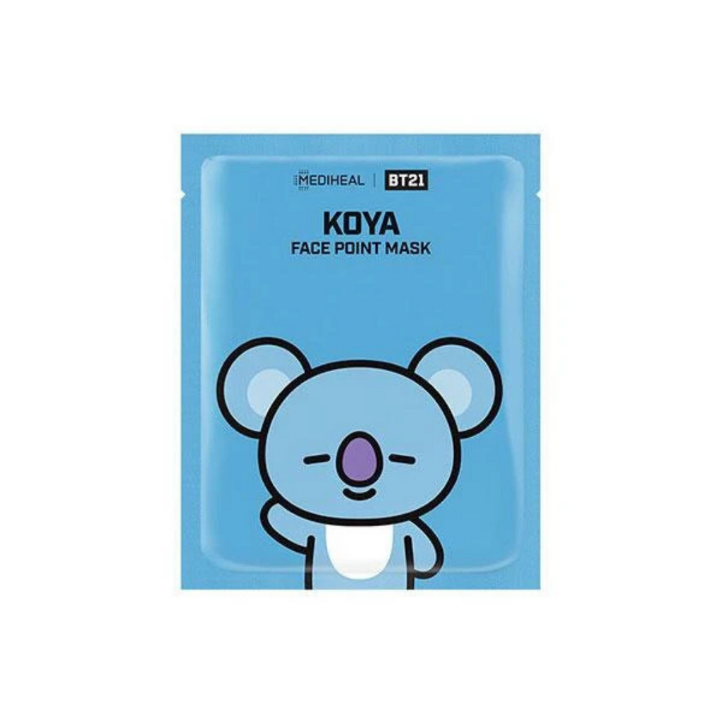 MEDIHEAL BT21 Face Point Mask KOYA--Mumui