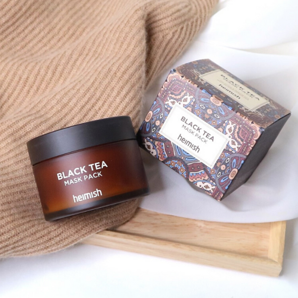 HEIMISH Black Tea Mask Pack - Mumui