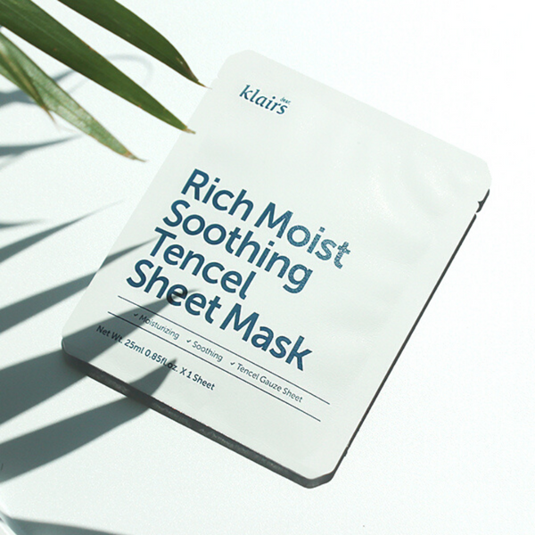 KLAIRS Rich Moist Soothing Tencel Sheet Mask - Mumui