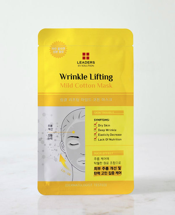 LEADERS EX Solution Wrinkle Lifting Mild Cotton Mask