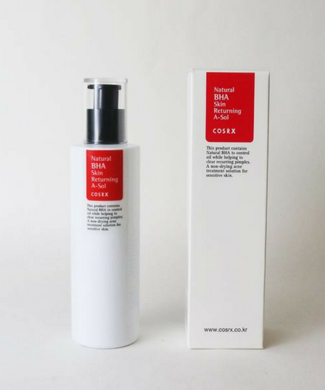 COSRX Natural BHA Skin Returning A-Sol - Mumui
