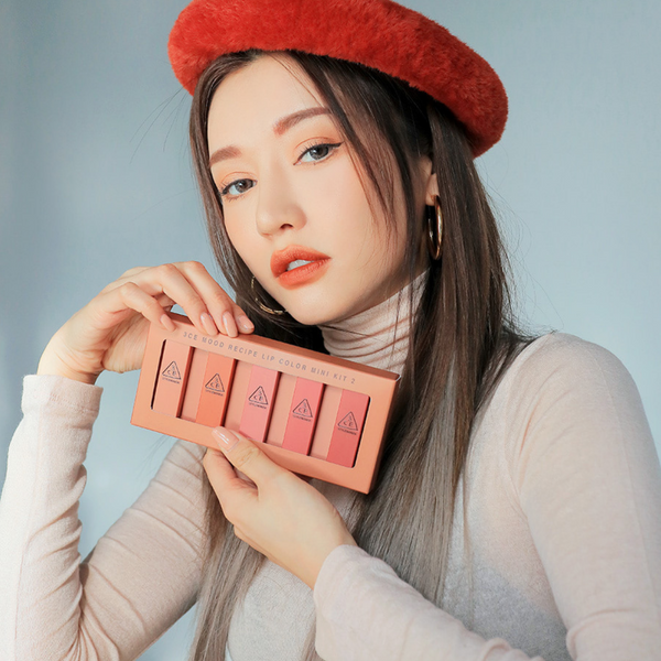 3CE Mood Recipe Lip Color Mini Set 2 - Mumui