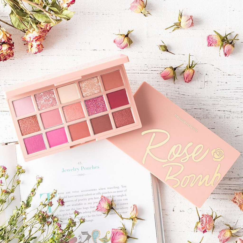 ETUDE HOUSE Play Color Eye Palette #Rose Bomb - Mumui