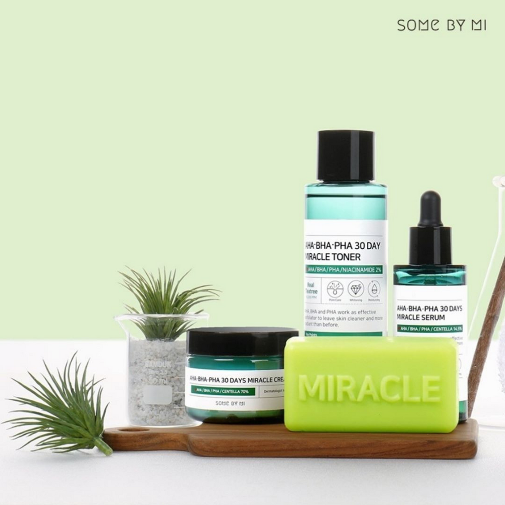 SOME BY MI 30 AHA BHA PHA 30 DAYS MIRACLE SET COMPLETO - Mumui
