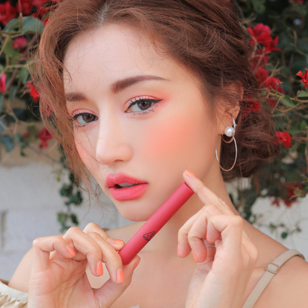 3CE Slim Velvet Lip Color Mood for Blossom Edition #HOLD ON - Mumui