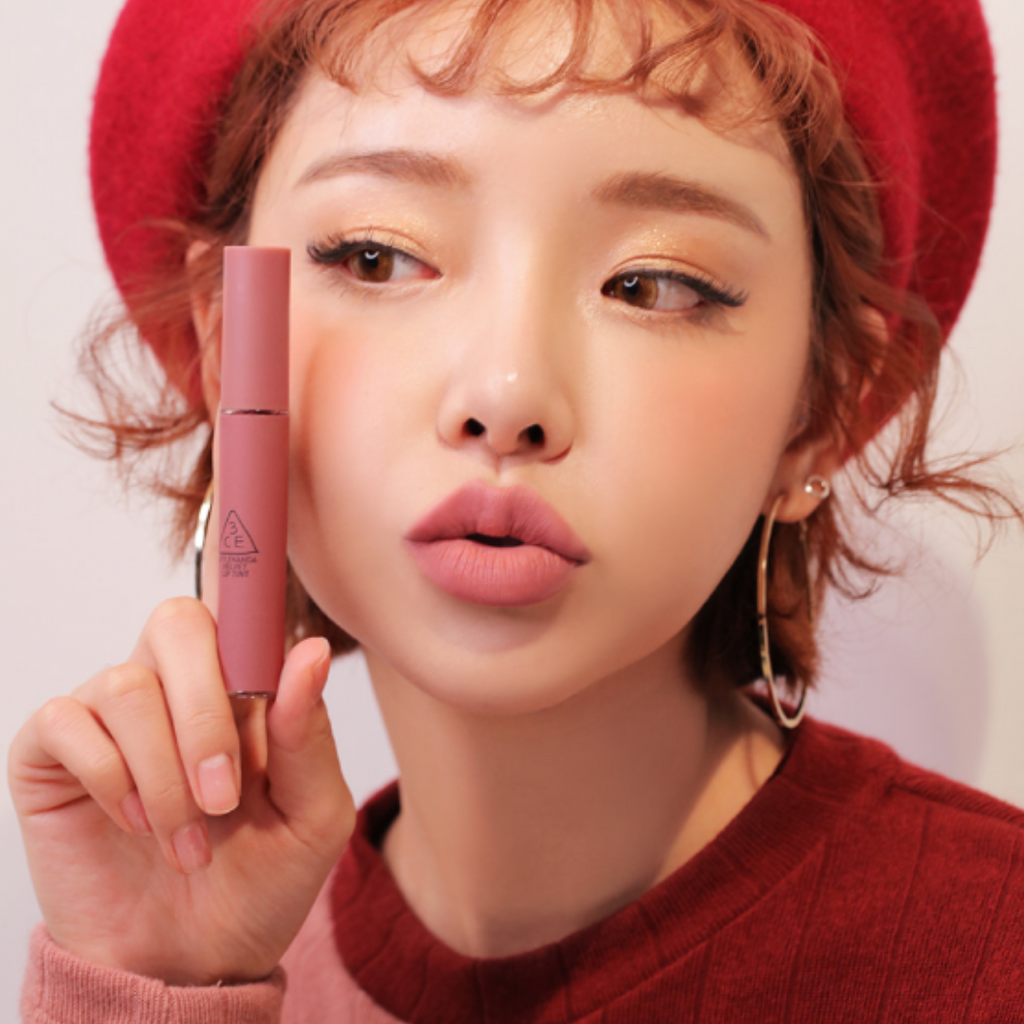 3CE Velvet Lip Tint #NEAR AND DEAR - Mumui