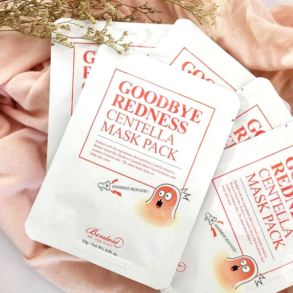 BENTON Goodbye Redness Centella Mask Pack - Mumui