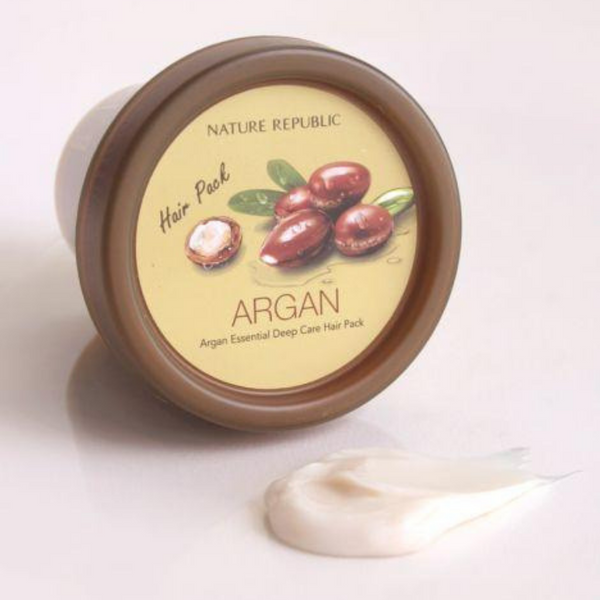 NATURE REPUBLIC Argan Essential Deep Care Hair Pack - Mumui
