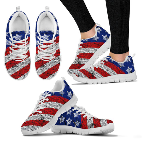 USA Flag Sneakers