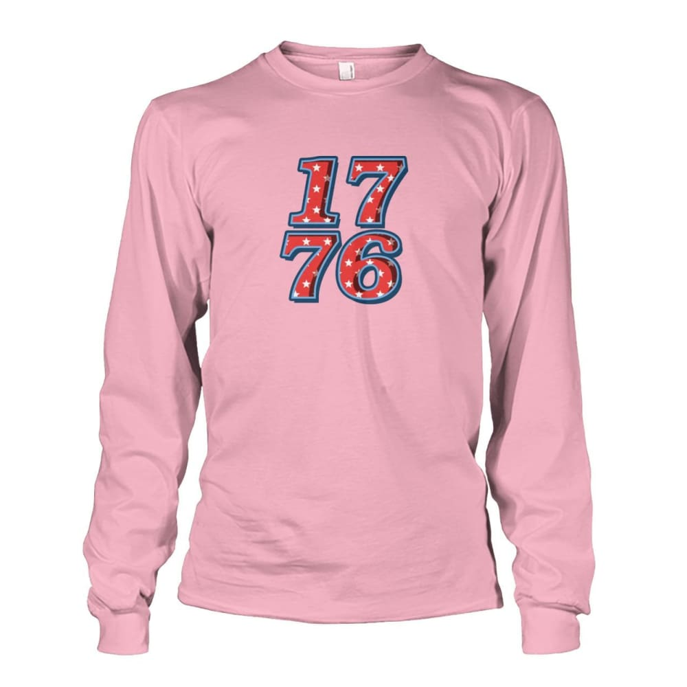 1776 Long Sleeve - Light Pink / S - Long Sleeves