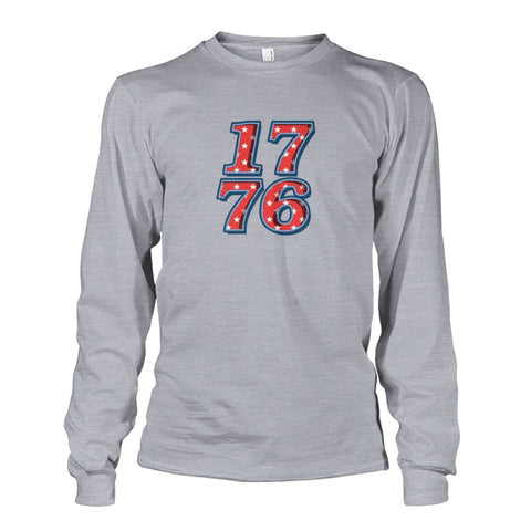 Image of 1776 Long Sleeve - Sports Grey / S - Long Sleeves