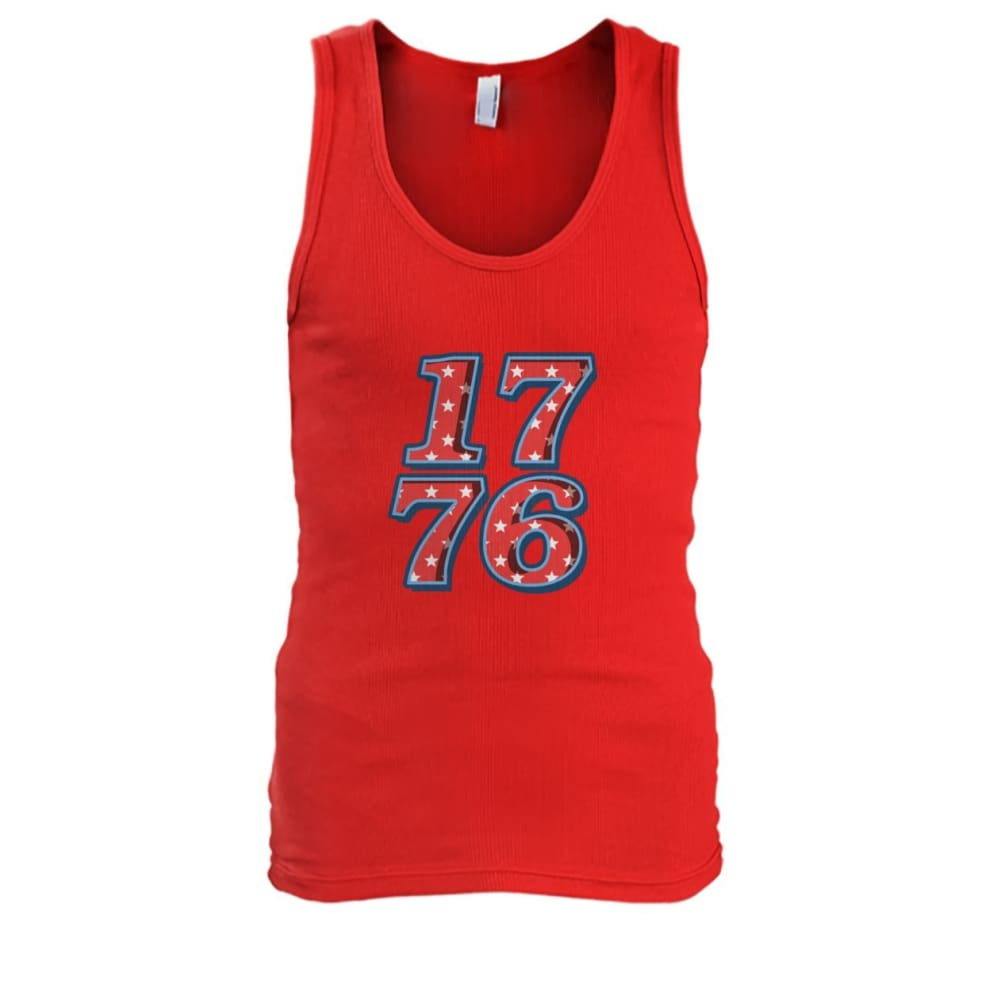 1776 Tank Top - Red / S - Tank Tops