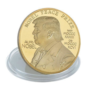 2018 Donald Trump NOBEL PEACE PRIZE Coin