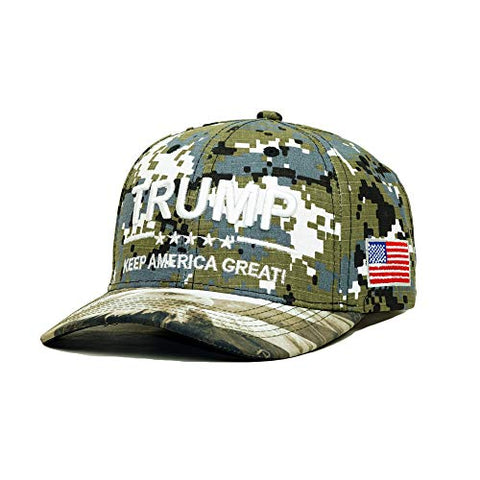 Image of Trump 2020 USA Eagle Embroidery Hat
