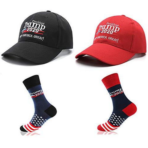 Trump 2020 Apparel Set (Cap & Socks)