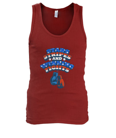 Image of Star Stripes And Winning Fights Tank Top