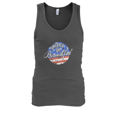 Image of America The Beautiful Tank Top - Charcoal / S - Tank Tops