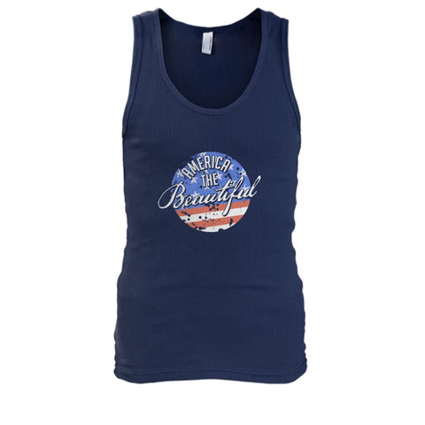 Image of America The Beautiful Tank Top - Navy / S - Tank Tops
