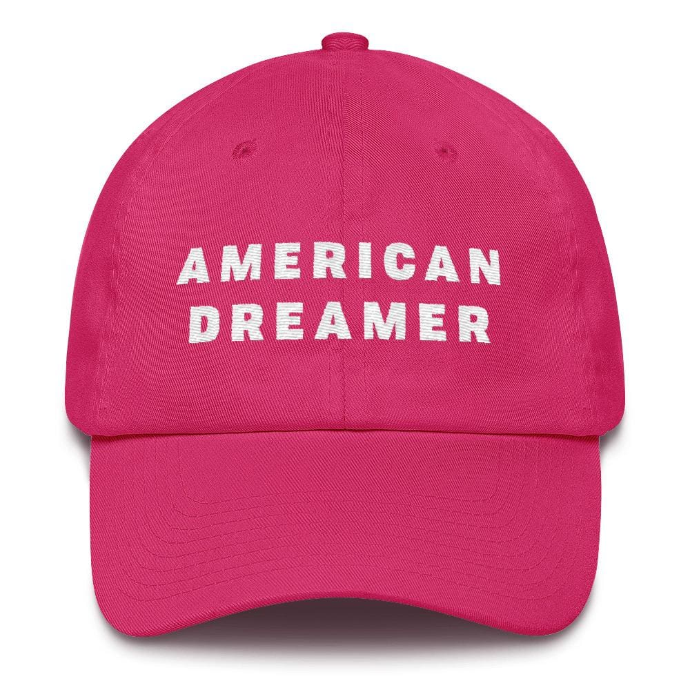 American Dreamer *MADE IN THE USA* Hat - Bright Pink
