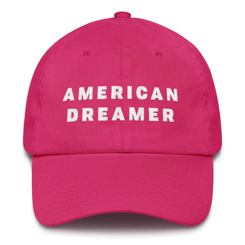 Image of American Dreamer *MADE IN THE USA* Hat - Bright Pink