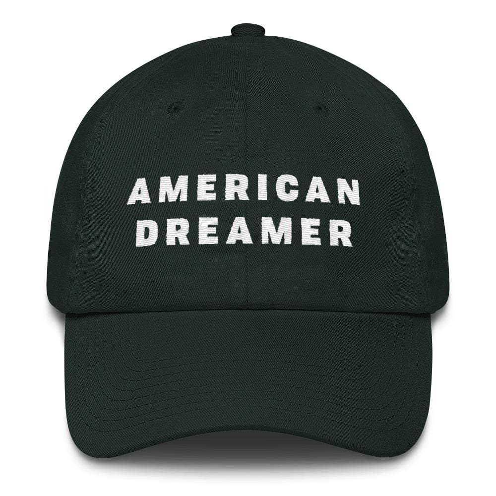 American Dreamer *MADE IN THE USA* Hat - Forest Green