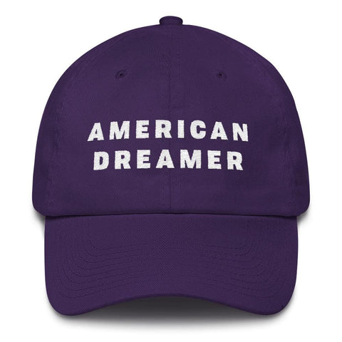 Image of American Dreamer *MADE IN THE USA* Hat - Purple