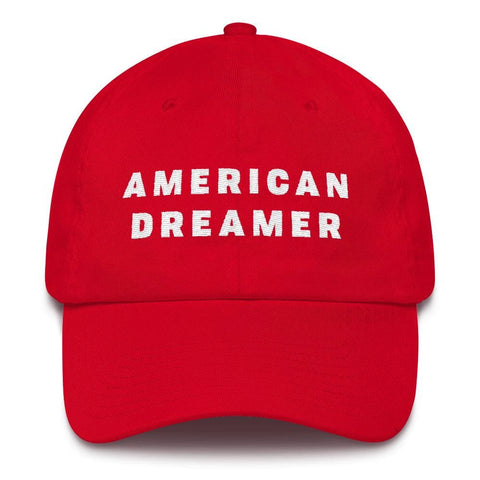 Image of American Dreamer *MADE IN THE USA* Hat - Red
