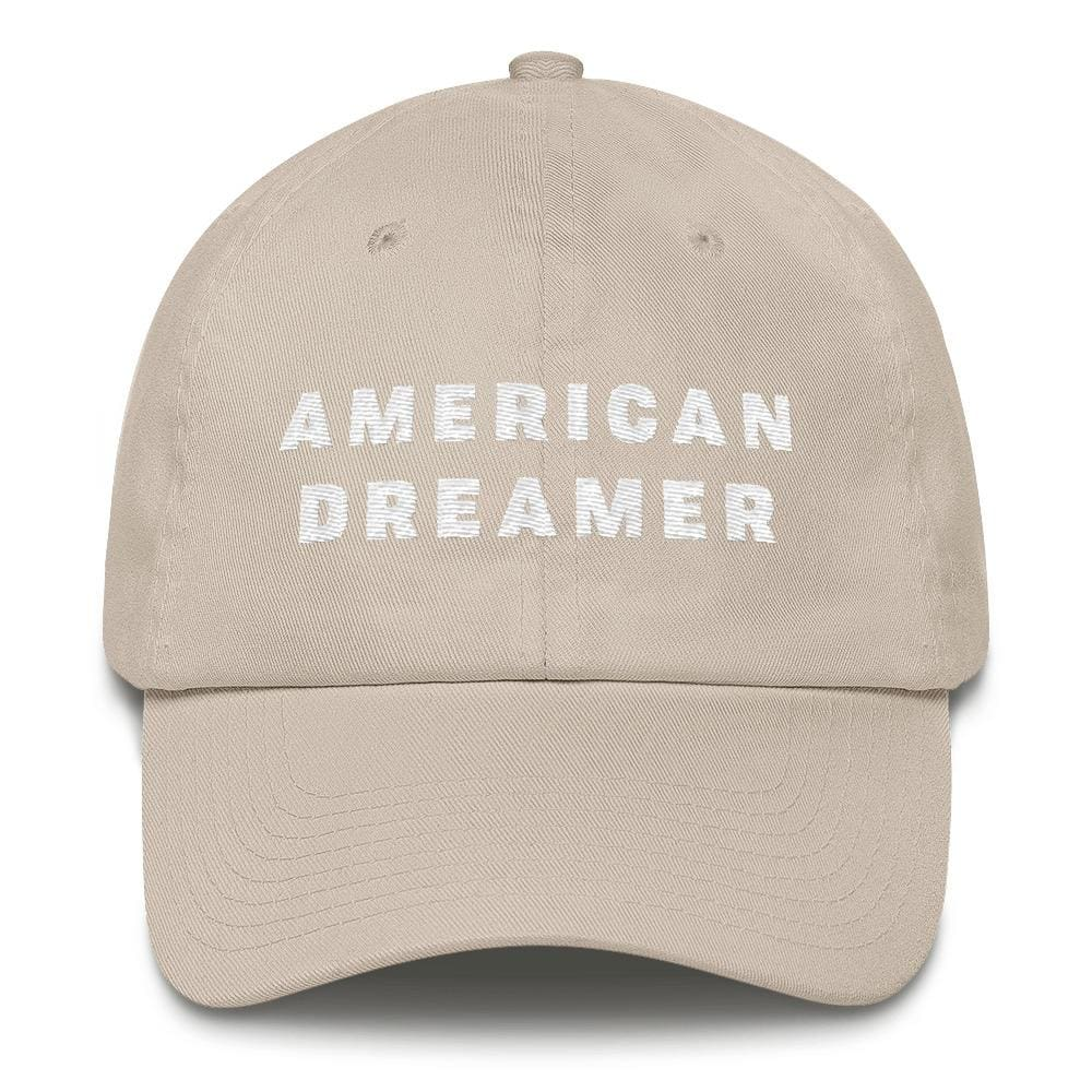 American Dreamer *MADE IN THE USA* Hat - Stone